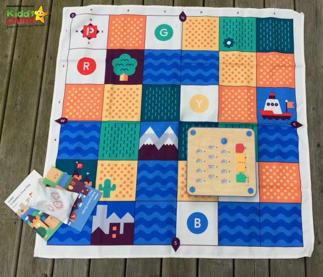 The Cubetto World map provides lots of learning opportunities for the kids - and its gorgeous too!