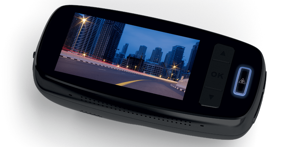 Philips AR 810 Dash Cam - looking sleak don't you think?
