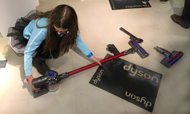 My daughter even likes cleaning with the Dyson Total Clean