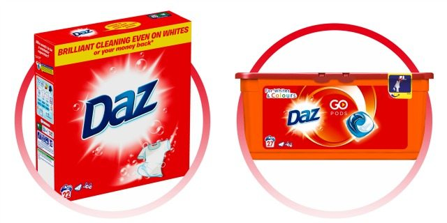 We have a three month supply of Daz for our lucky readers to win - go on you KNOW you want to! Closes 13td Dec