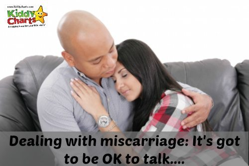 Dealing with miscarriage: It's got to be OK to talk...