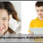 Dealing with teenagers: Finding the thing