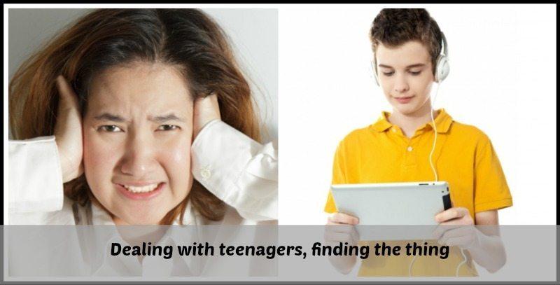 dealing witih teenagers