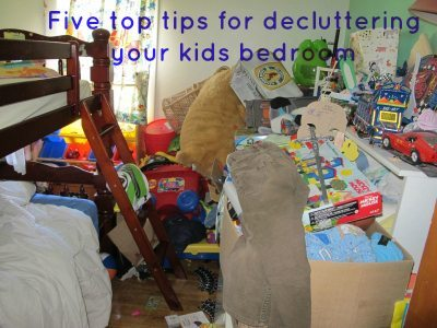 Decluttering tips: In the kids room