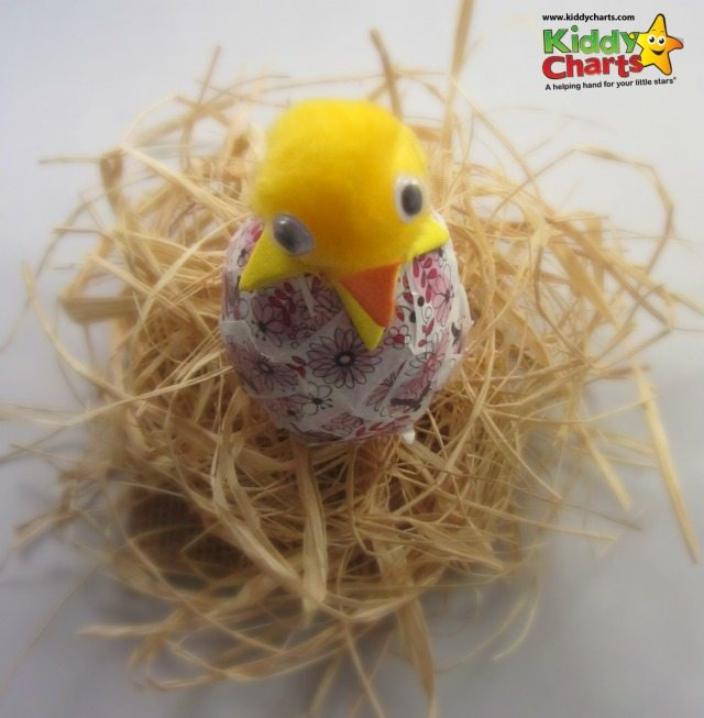 Looking for an easy Easter craft to do with the kids? Why not try this one - its simple, and my son came up with the idea!