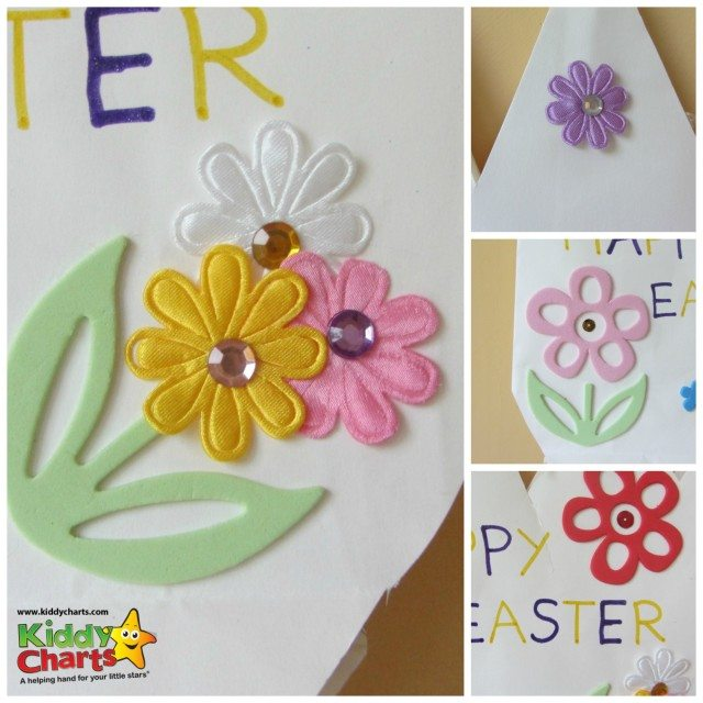 Some ideas for you for decorating your Easter basket - as simple as making the basket too!