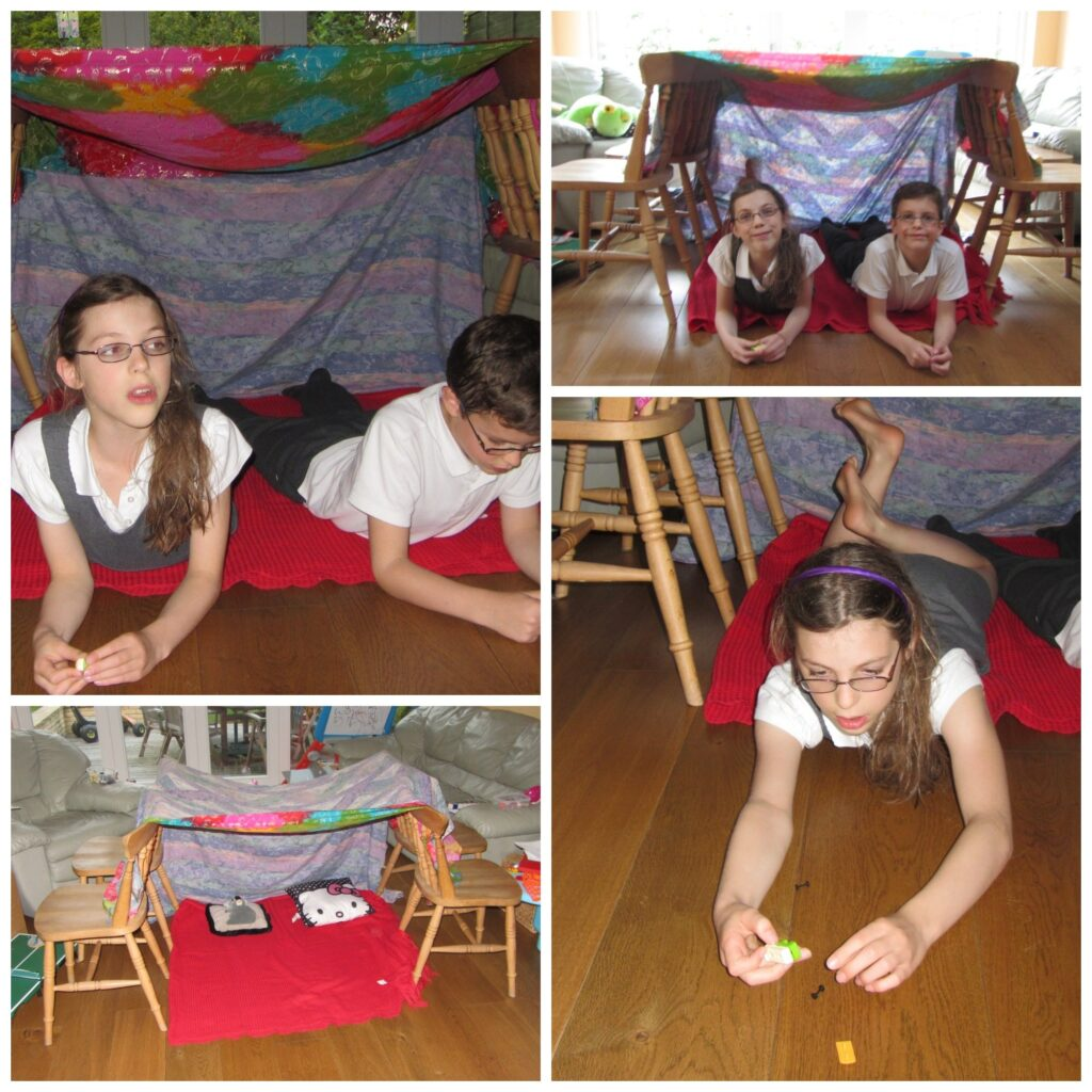 Den building can be so much fun - take a look at this!