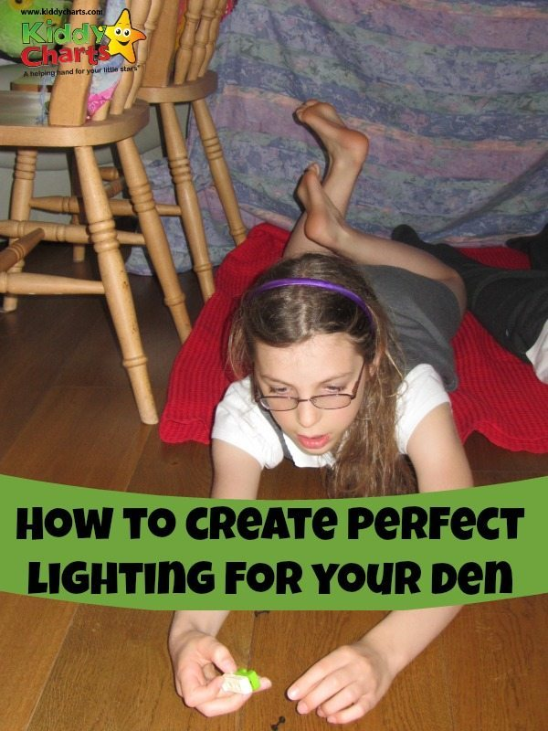 Den building is soooo much fun - but how do you create perfect lighting in your den? We hangout to find out....
