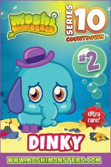 Moshi Monsters Series 10: Dinky