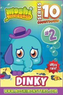 Moshi Monsters Series 10: Dinky