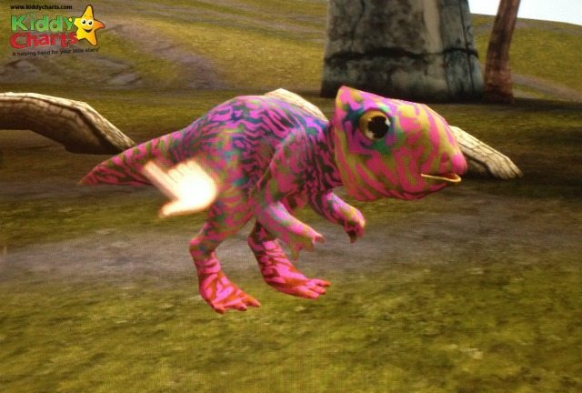 Meet Pickel the Pink dinosaur we hatched in Dino Tales!