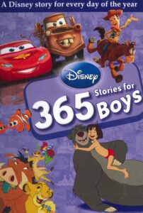 Disney 365 Stories for Boys Review - Frontcover