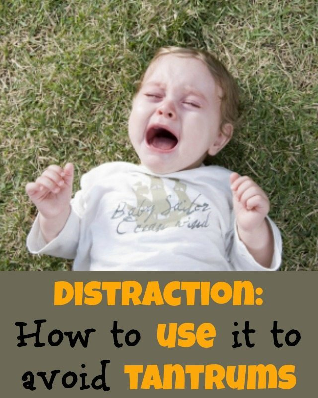 We have some ideas for using those fantastic distraction techniques with kids to avoid those terrible twos tantrums and beyond...sometimes its too late to stop a tantrum with your child, but at other times, distraction is a great way to hold it off before it begins.