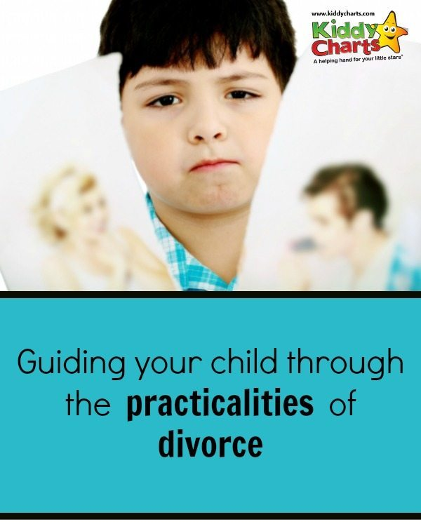 guiding your child through the practicalites of divorce