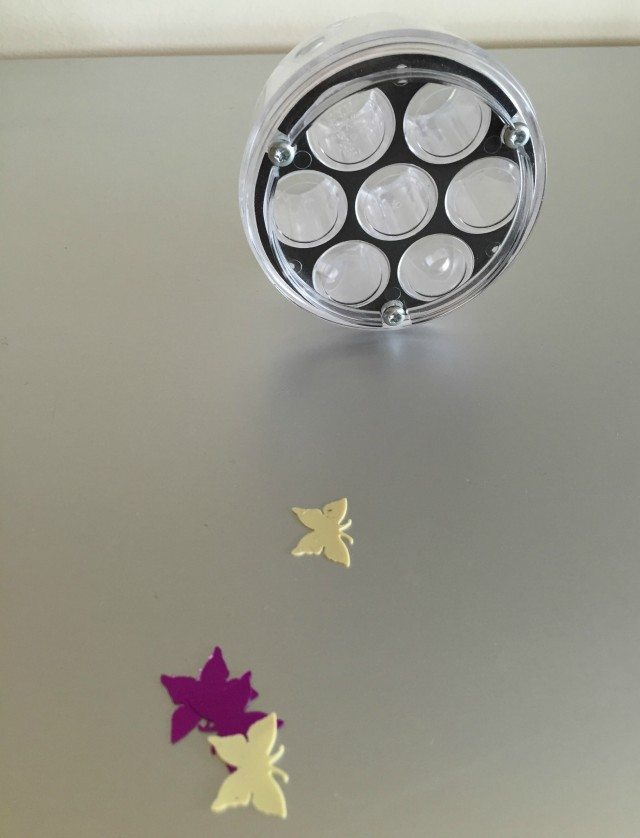 Dyson technology can be beautifuol, even surrounded by glittery butterflies....