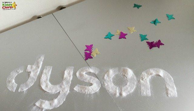 Dyson made sparkles