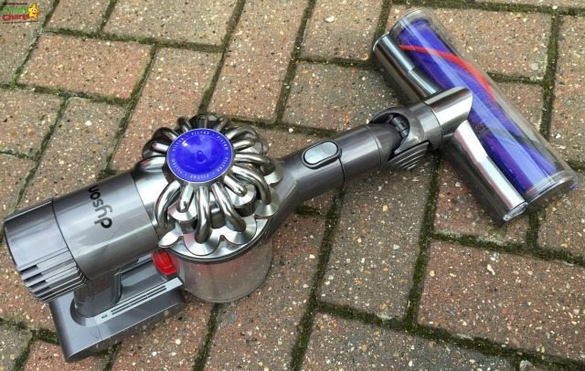 The Dyson can be ued as a handheld - the perfectly way to clean the car :-D