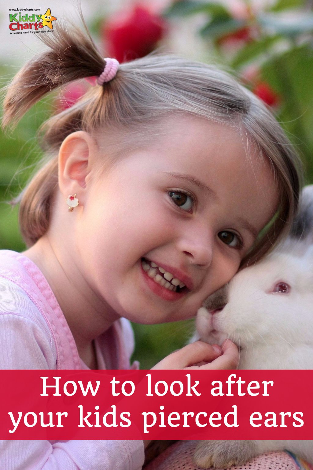 Ear piercing aftercare with kids is really important. Why don't you check out our great tips?