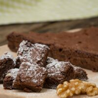 The easiest chocolate brownie recipe ever
