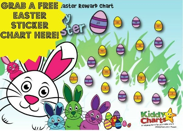 Come On Our Easter Bunny And Egg Hunt With Our New Free Chart