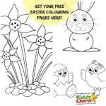 Easter Coloring Pages: The Easter Bunny Comes to play!