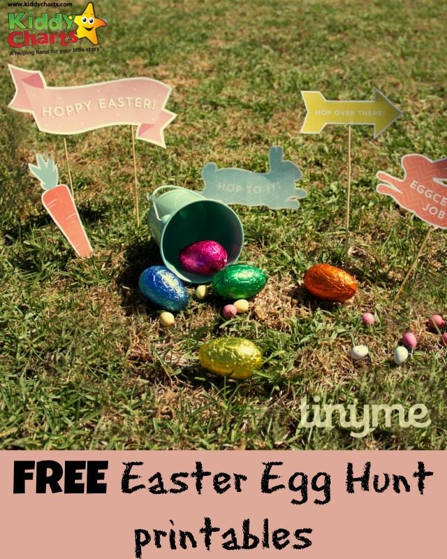 We have some lovely freebies fo the kids today, and for Easter - these gorgeous printables from Tiny Me to help you organise your Easter Egg Hunt for the kids.