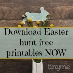 Come here and download your free Easter hunt printables for the kids - go on you know you want to!