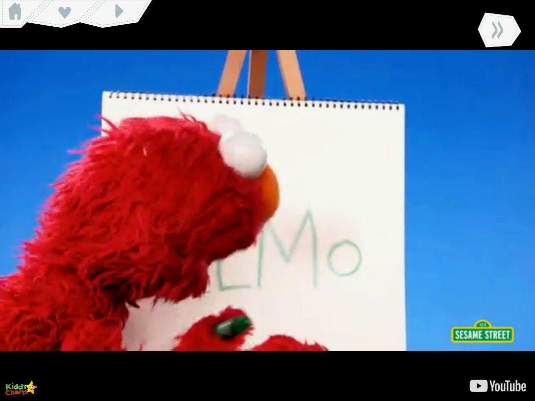 kiddZtube includes Elmo - isn't that wonderful!