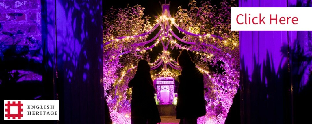 Enchanted Events at some of the spectactular English Heritage houses are perfect for the family in the run up to Christmas.