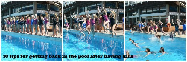 Exercise after birth: Taking the plunge literally...