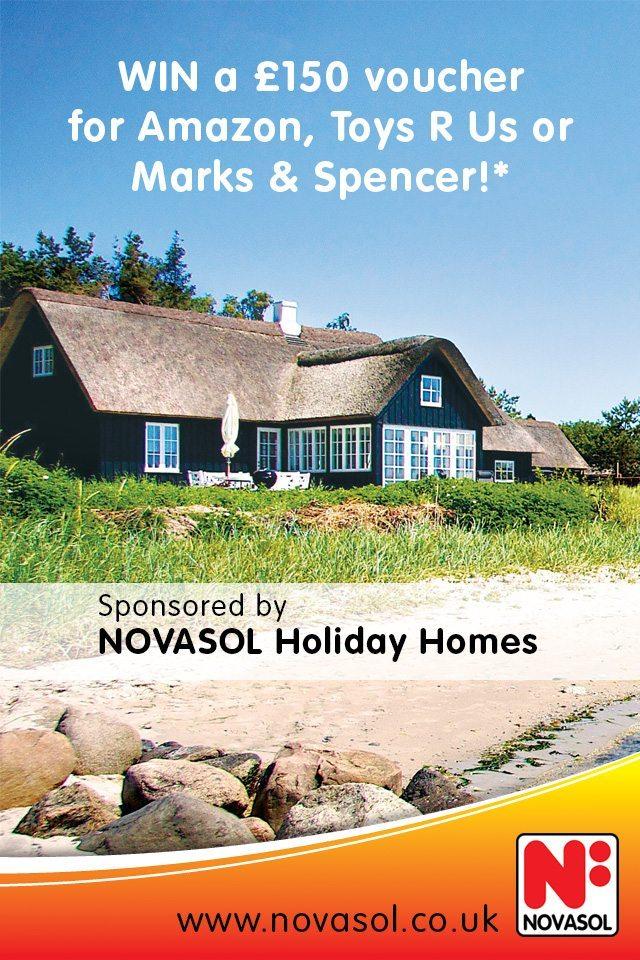 Win a £150 voucher with NOVASOL