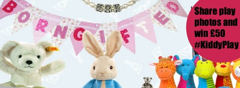 Win £50 with born gifted, and give 50p for each entry to Kids Company with KiddyPlay