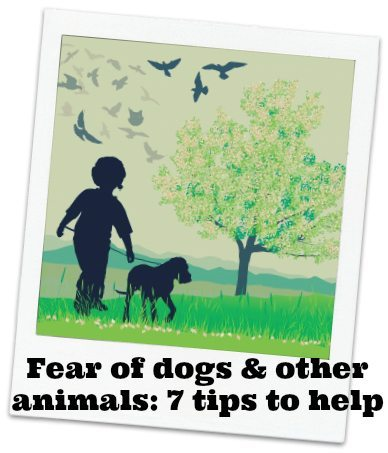 Fear of dogs: My child is frightened of animals - 7 tips to help