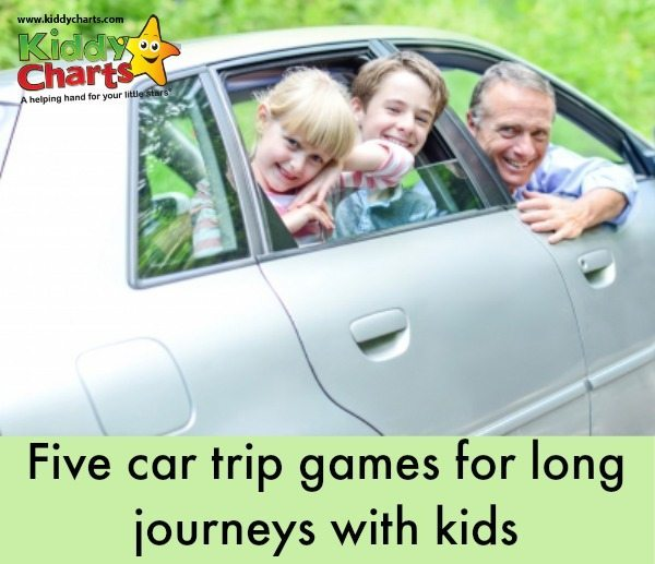 Five Car Trip Games and other car travel tips