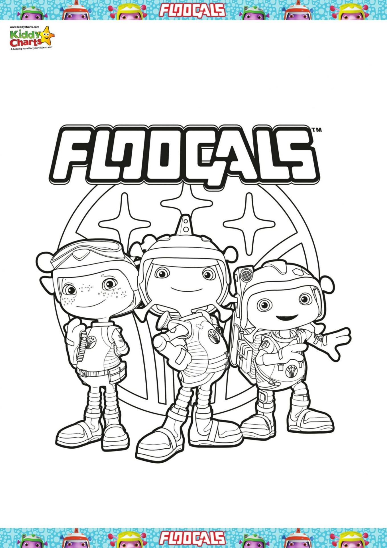 We've got this great floogals colouring sheet for you all - its fun fun fun!