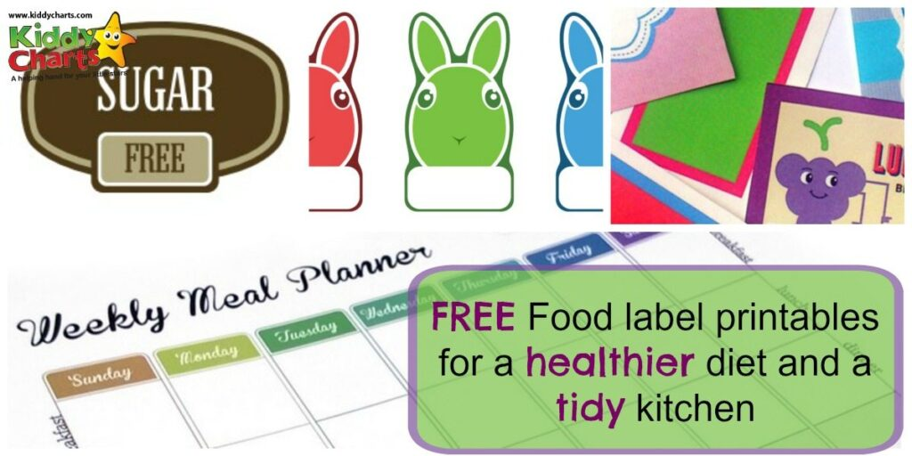 These sticky food labels could be every parent's best friend as they help promote interest in healthier food and a tidier life
