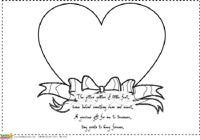 Printable Mothers Day poems Hand and footprint gifts
