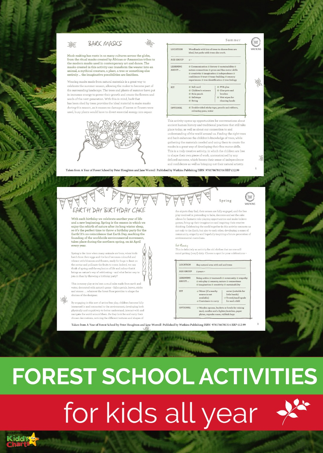 Seasonal forest school activities for you and the kids; so you don't have to have the sun shining to have fun in the forest! #kids #activities #nature #outdoors
