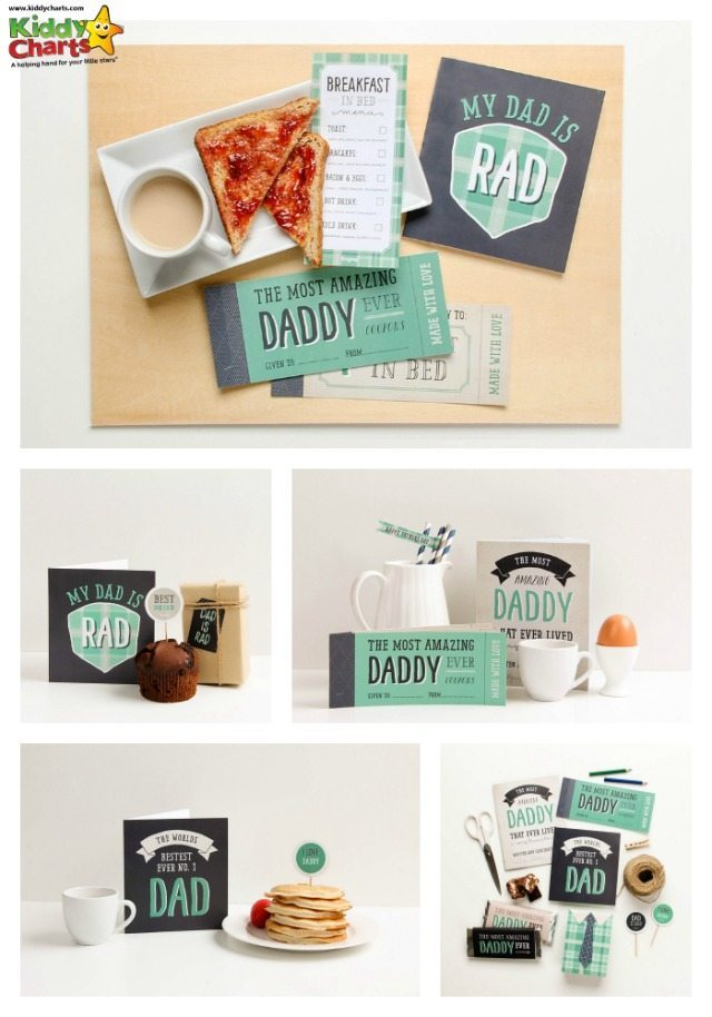 stuck for what to give Dad for Fathers Day, then these lovely free printables could be perfect for you.  Personalise them for the perfect gift; along with breakfast in bed for Dad, perhaps?