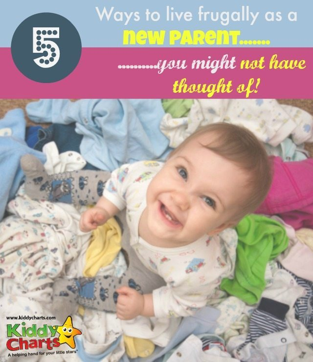 Are you going to be a new parent soon - we have some great tips for you for living frugally when the little ones arrives...and they may not be as obvious as you think!