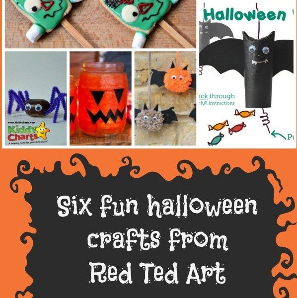 Six fun crafts for your kids to sink their teeth into from the Red Ted Art blog - always fun