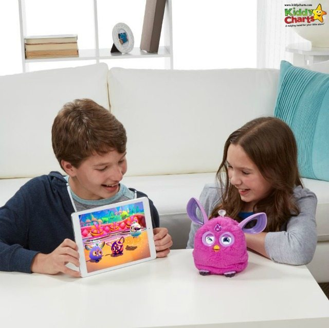 The Furby Connect World app adds another dimension to play with the little furry creatures. My son loves it when he gets the Furby to poo on his device. Which is nice.