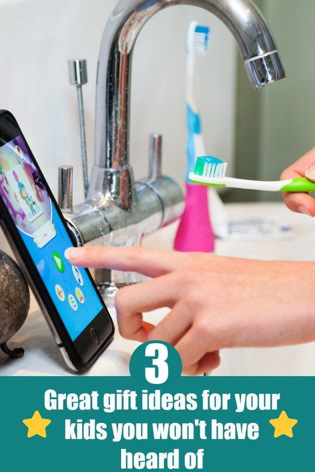 Are you looking for some gifts for the kids that are a little different? We have three for you here, including something that helps them WANT to brush their teeth; the Playbrush!