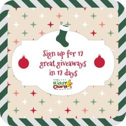 KiddyCharts 12 Days Giveaways