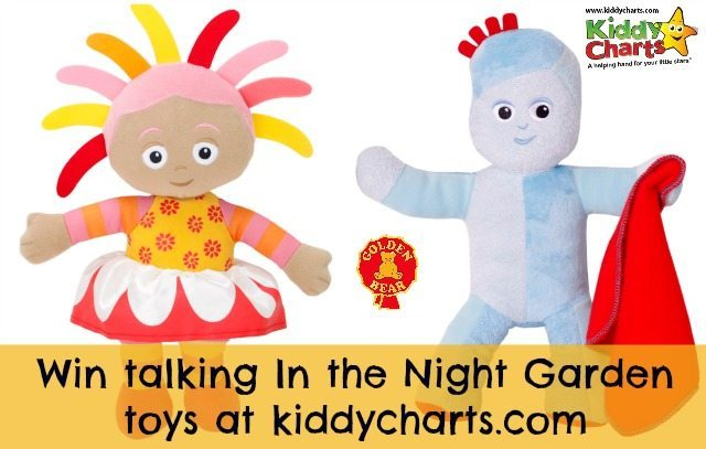 We have a gorgeous giveaway for you today - two In the Night Garden bundles for you from Golden Bear. Closes on 21st May.