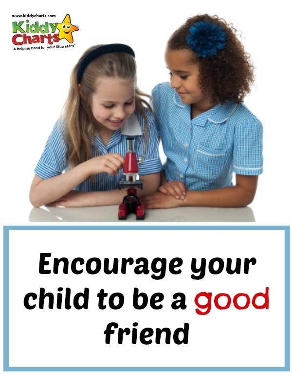 Friendships play a massive part in our child's development and helping them to be a good friend from an early age will help them as they get older and approach adulthood