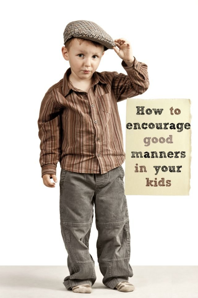 Do you want your kids to have good manners? We chat about how you can encourage good habits from an early age and beyond, so they are polite.