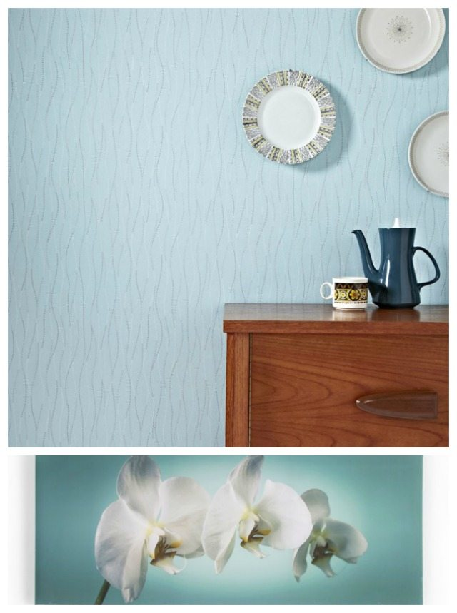 Graham and Brown has some lovely subtle colours for tween wallpaper in their range
