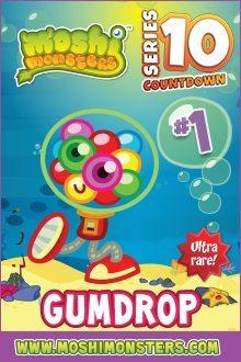 Moshi Monsters Series 10: Gumdrop