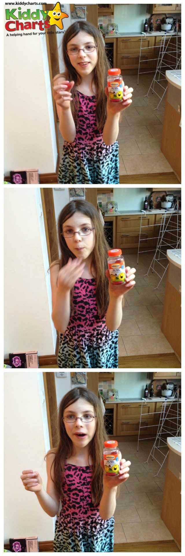 We have taken a look at the Mr Men softies product for Haliborange. My daughter rather liked them as you can see from this little sequence...though chewing them does make you pull some funny faces!